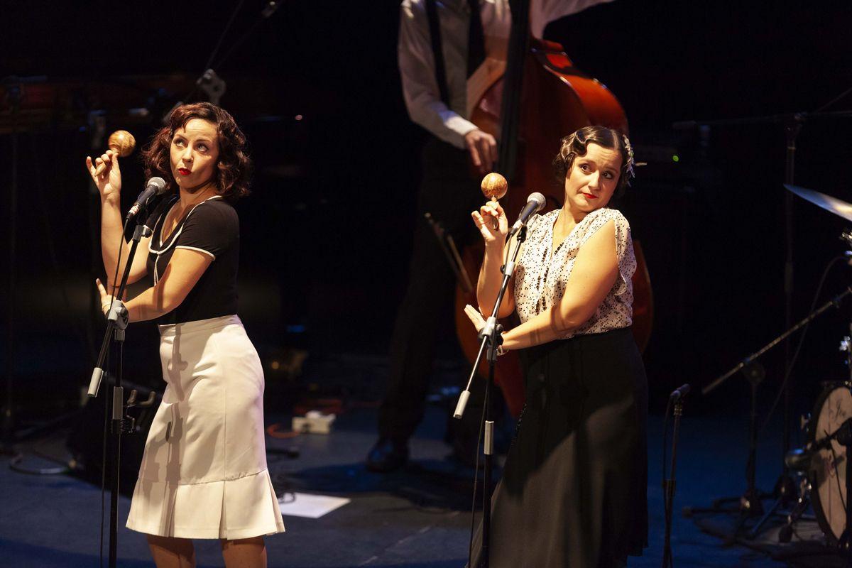 El swing vocal de O' Sister! volvió a cautivar en el Fernán Gómez