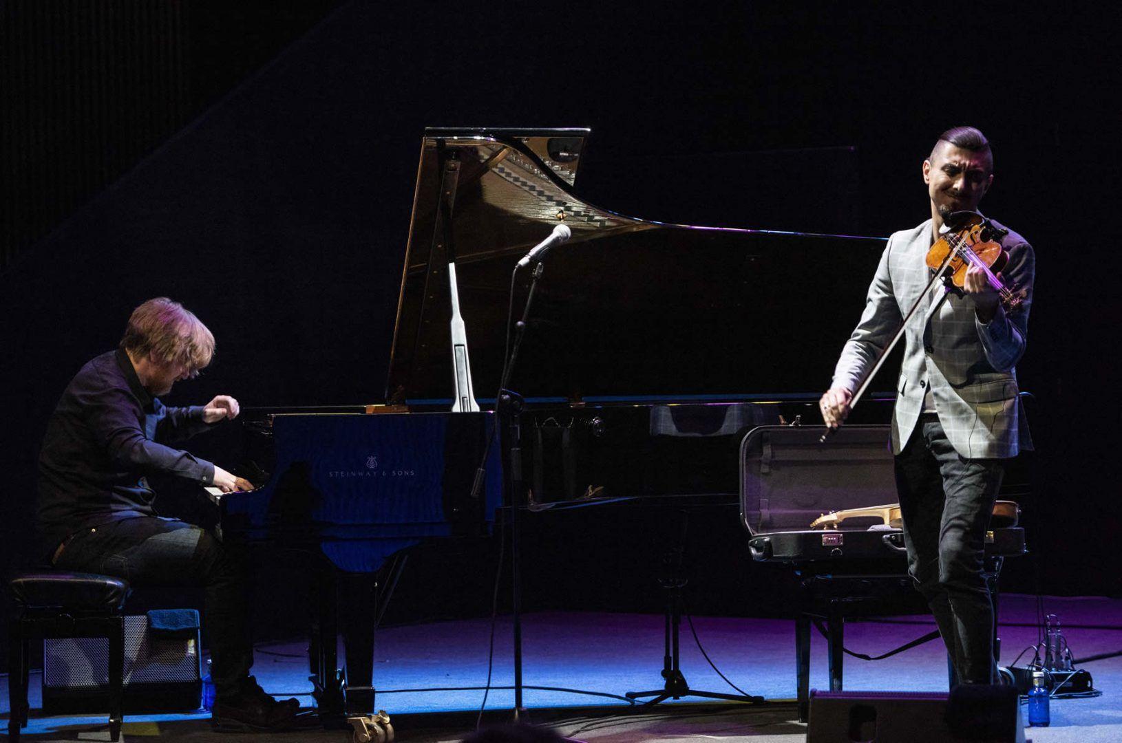 Sublime celebración camerística. Adam Baldych y Helge Lien en JAZZMADRID