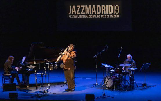 El Trio Tapestry, de Joe Lovano, cautivó anoche a la audiencia en JAZZMADRID